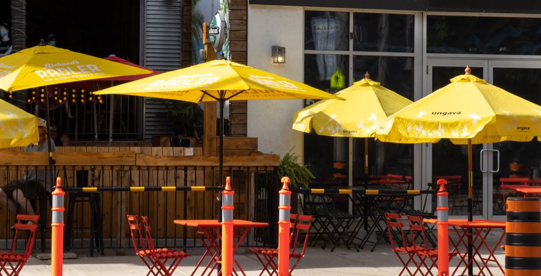Toronto's curb lane patios being removed starting this week