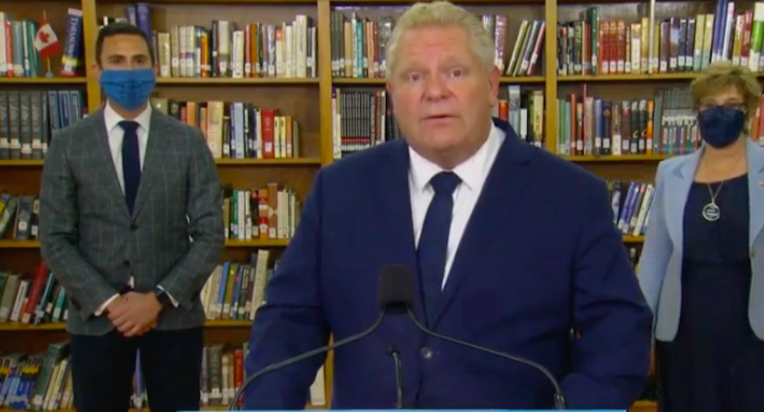 Ontario investing $550 million to build 20 schools over the next year