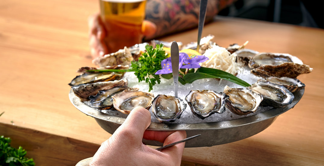 You can slurp up $1.50 oysters at this epic seafood happy hour spot