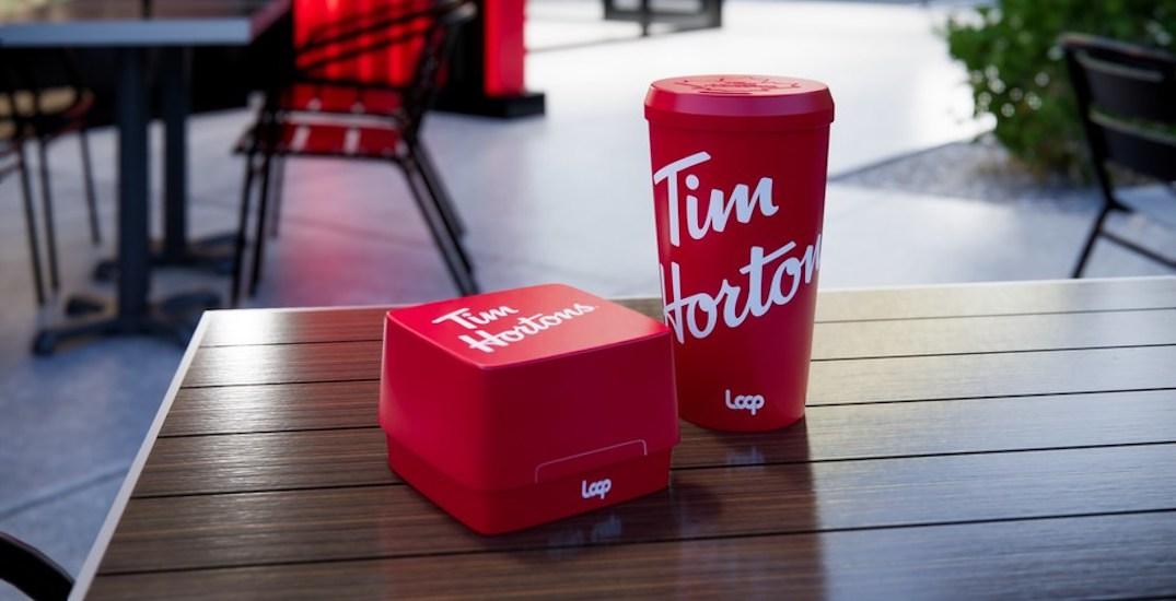 Tim Hortons to test returnable, washable coffee cups and containers
