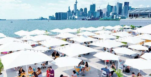 Large heated outdoor patio is coming to Toronto's waterfront this month | Dished
