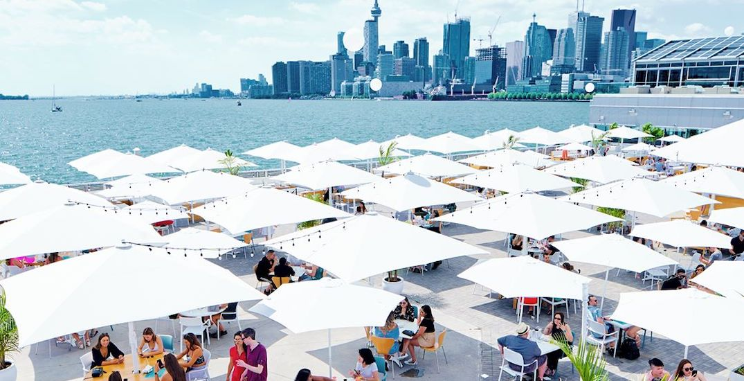 Large heated outdoor patio is coming to Toronto's waterfront this month