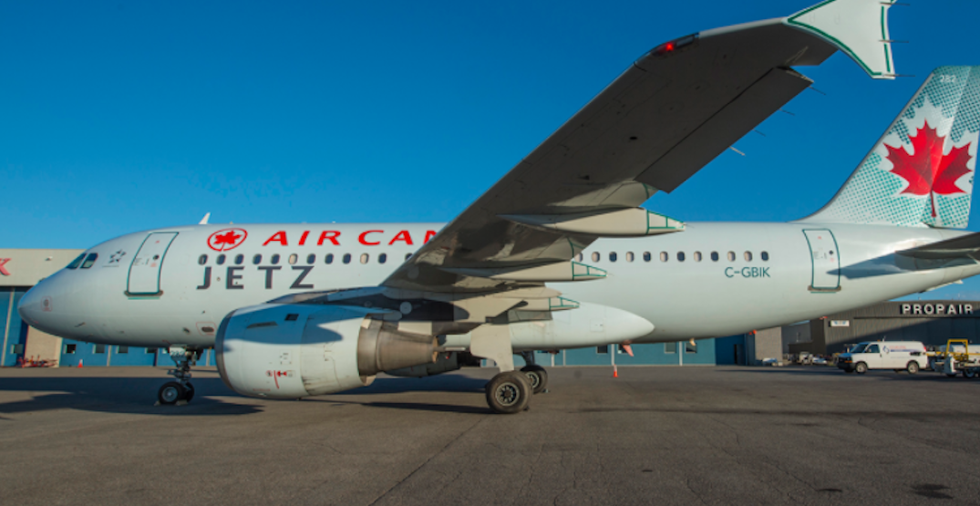 Air Canada is now offering flights on their all-business class planes