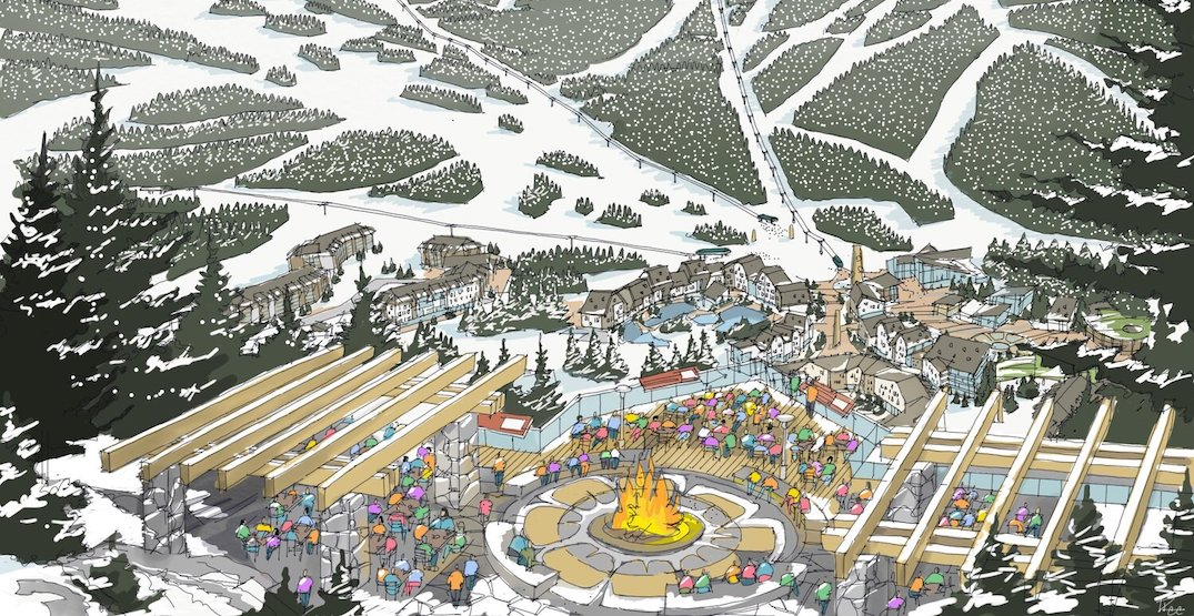 New renderings of the proposed Garibaldi ski resort near Squamish
