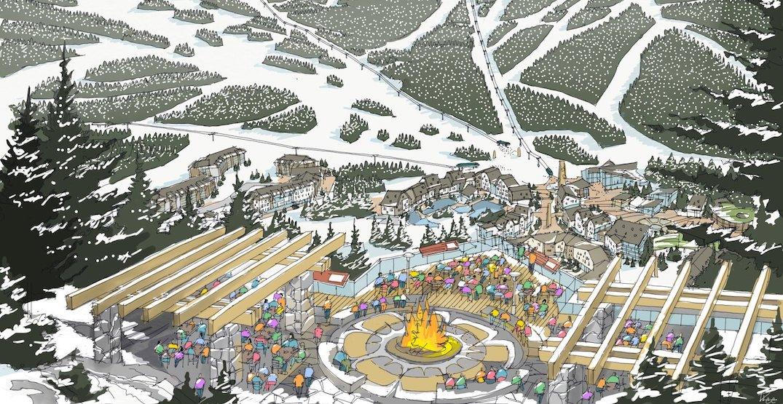 New renderings of the proposed Garibaldi ski resort near Squamish