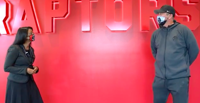 Raptors coach Nick Nurse is Toronto Public Health's newest spokesperson (VIDEO)