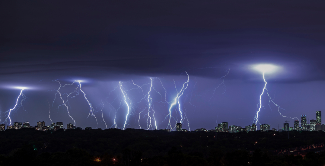 Strong wind gusts and thunderstorms expected to hit Toronto
