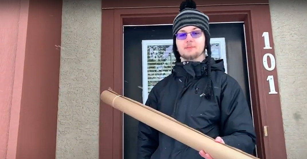 This Calgary high-schooler is selling tubes to make trick-or-treating safer
