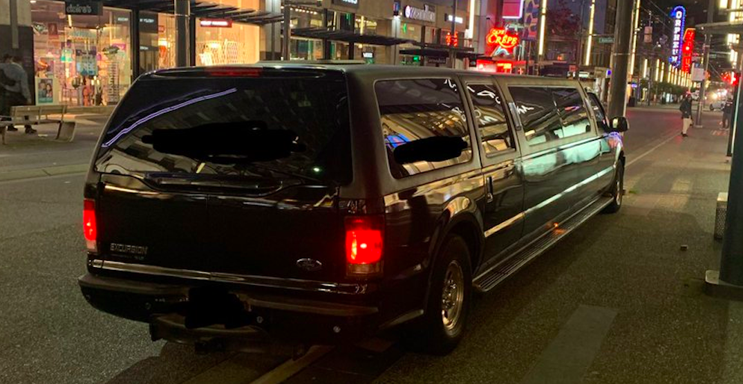 Police can now issue COVID-19 tickets to party buses and limos