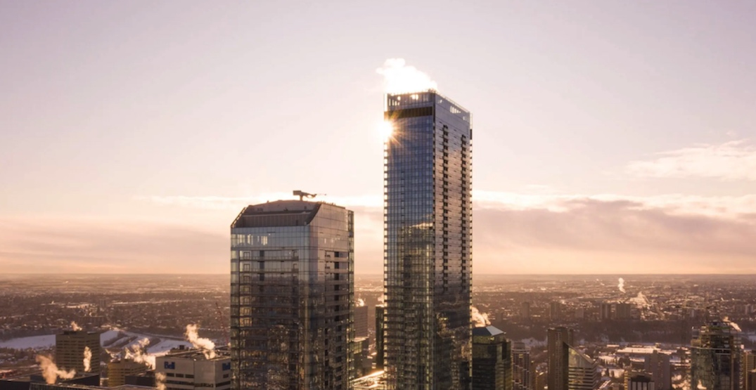 168 luxury condos in Western Canada's tallest tower now rental housing