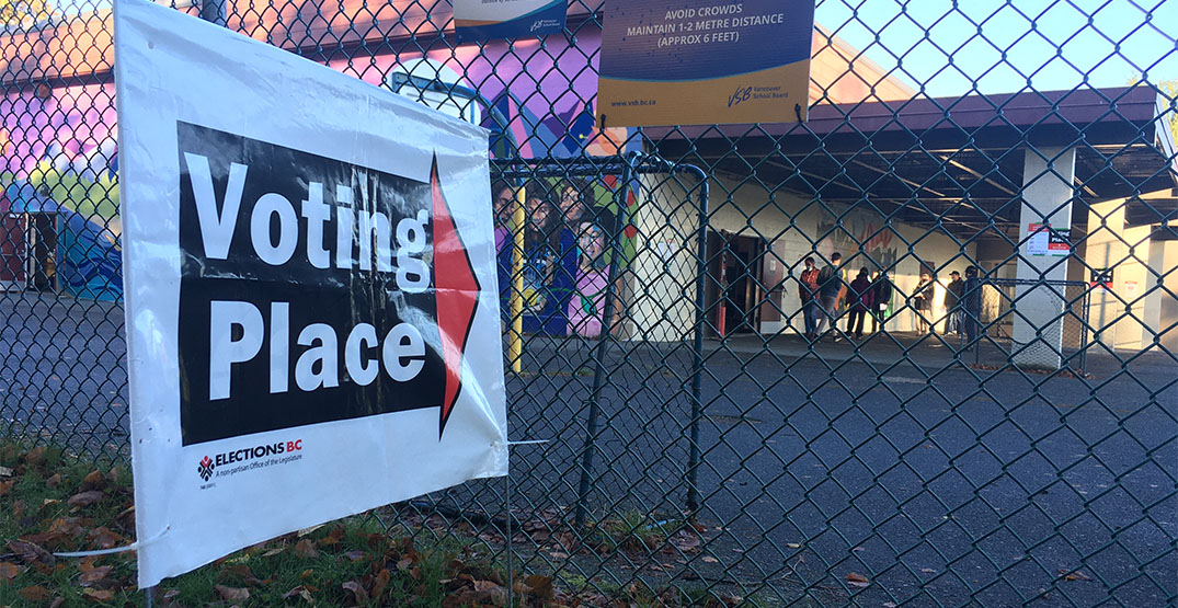 Voters head to the polls for BC's mid-pandemic election