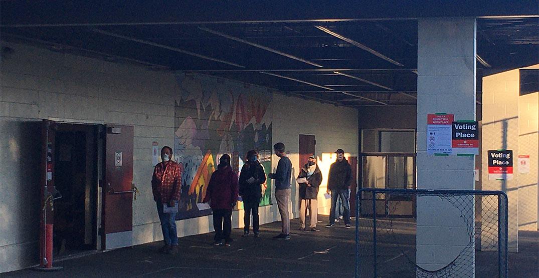 polling lineup