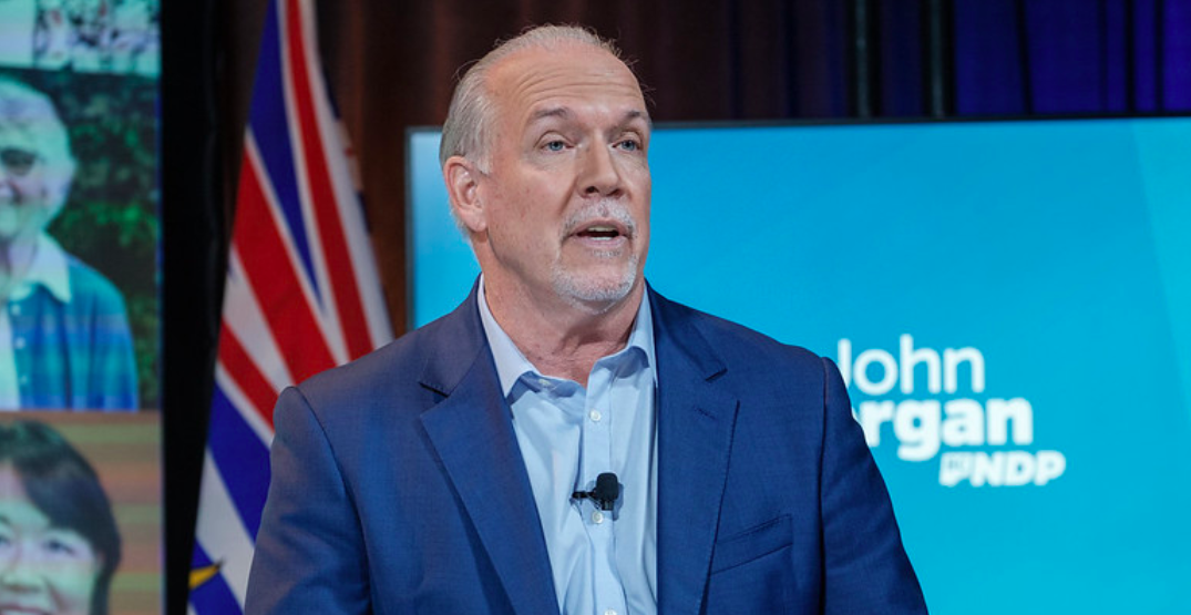 BC NDP Leader John Horgan re-elected with majority government