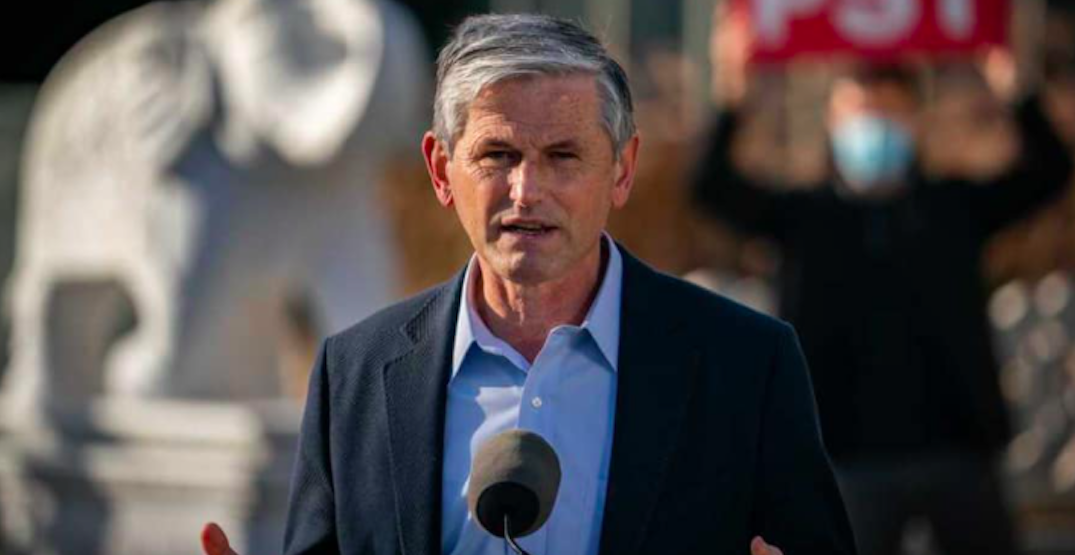 Andrew Wilkinson stepping down as BC Liberal leader