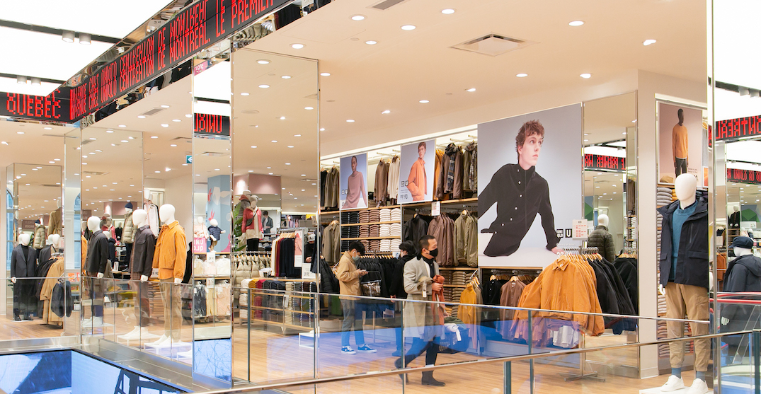 Take a look inside Montreal's new UNIQLO (PHOTOS)