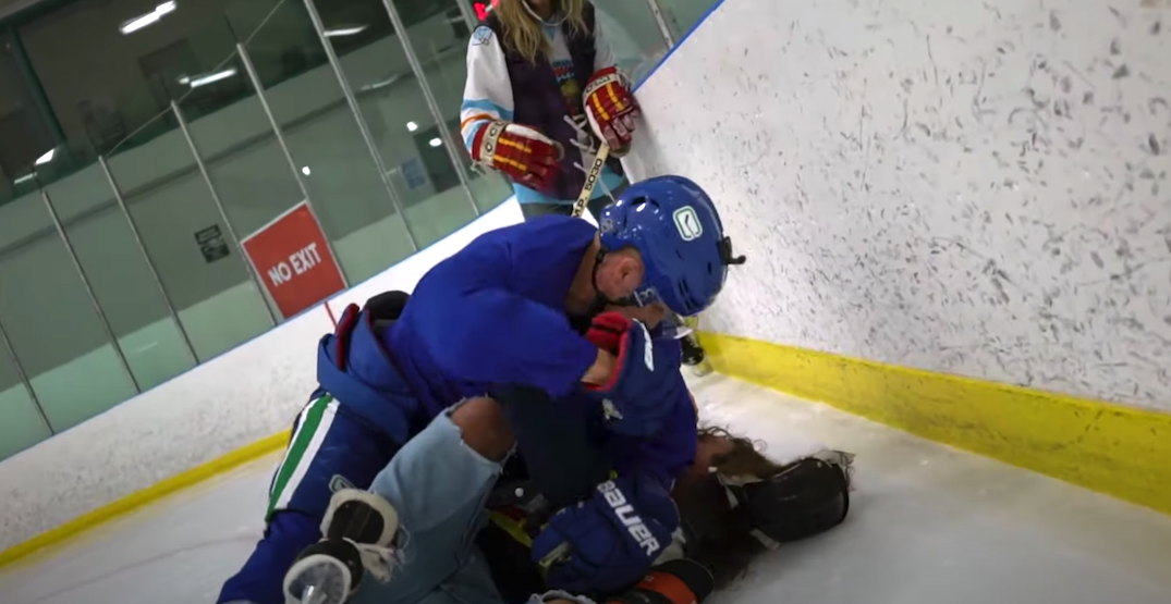 "Canucks' Elias Pettersson ""beats up"" On The Bench boys in outrageous new video"