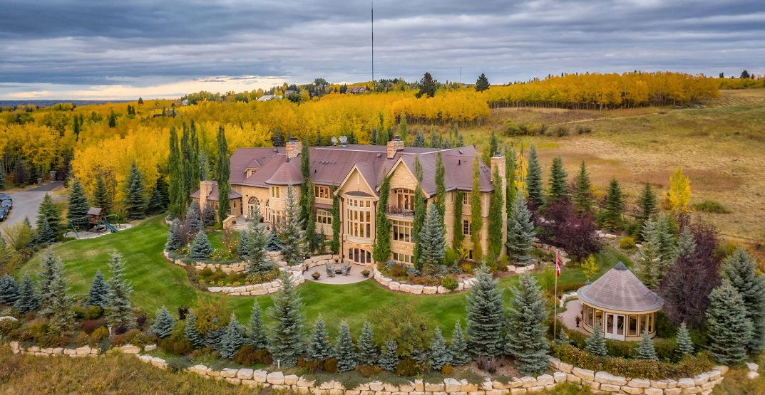 $15 million Calgary mansion being auctioned off this fall (PHOTOS)