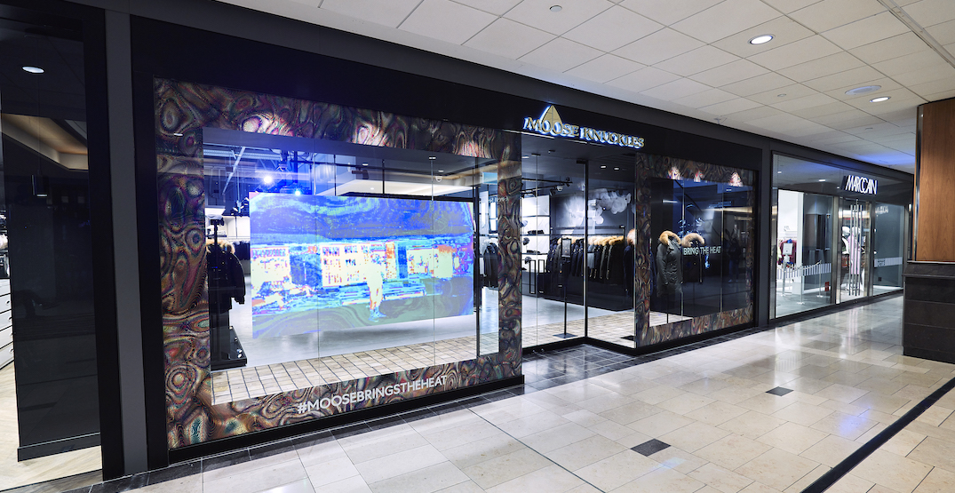 Moose Knuckles opens new store location at CF Pacific Centre