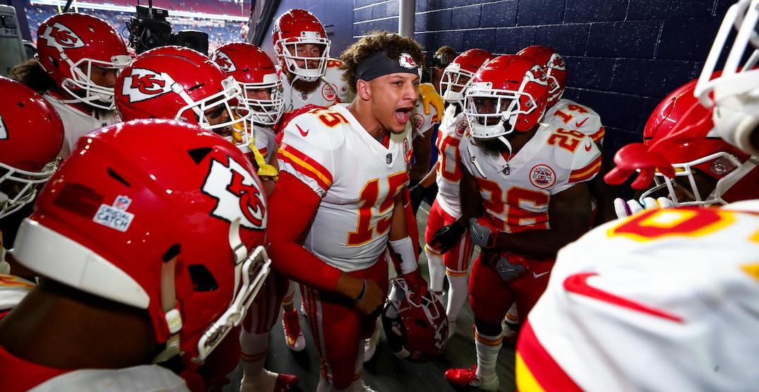 NFL star Patrick Mahomes wants the Raptors to relocate to Kansas City