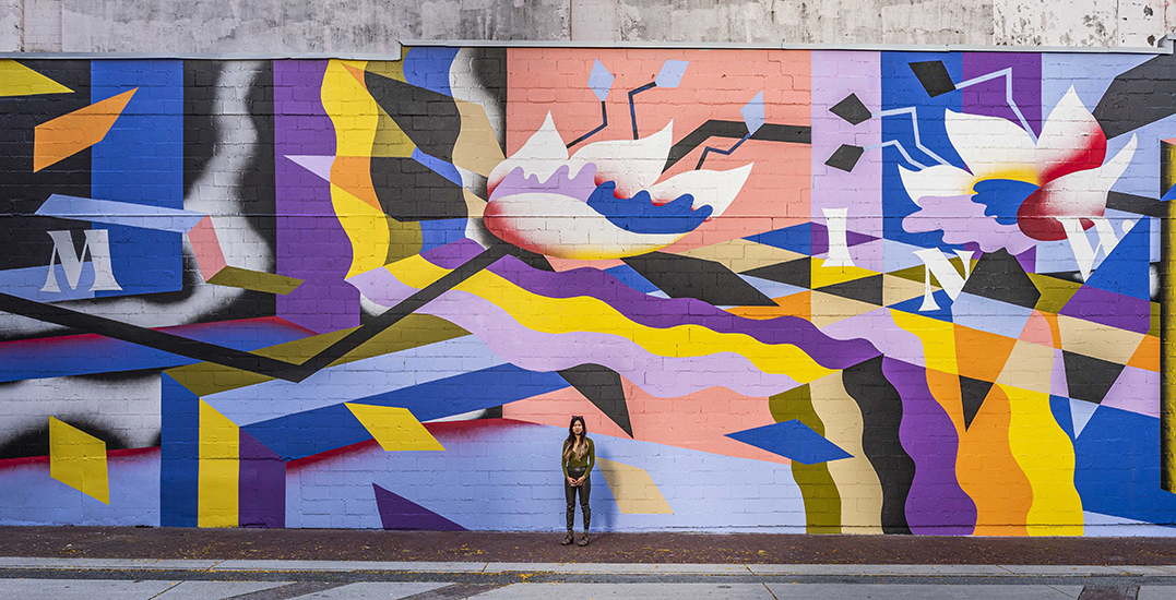 A stunning 2,700-sq-ft mural has been unveiled in Gastown (PHOTOS)