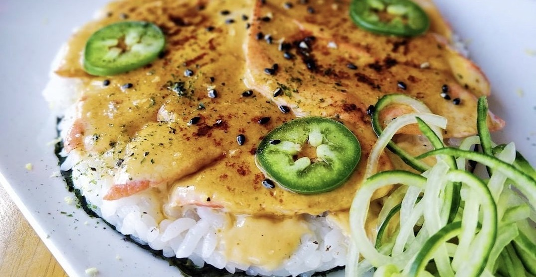Kozu Sushi Pizza is launching in Vancouver this November