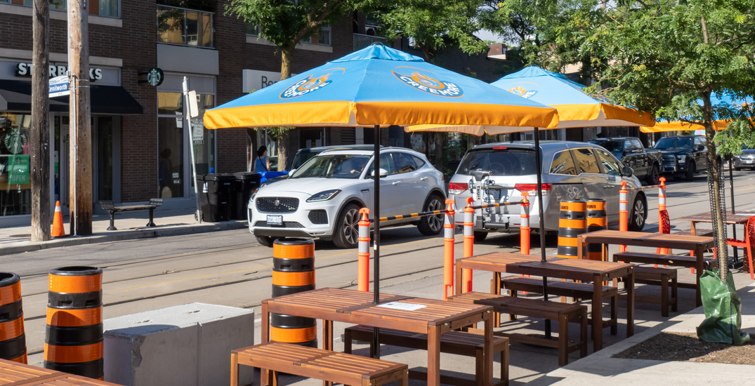 Bundle up: Sidewalk patios to continue throughout the winter in Toronto
