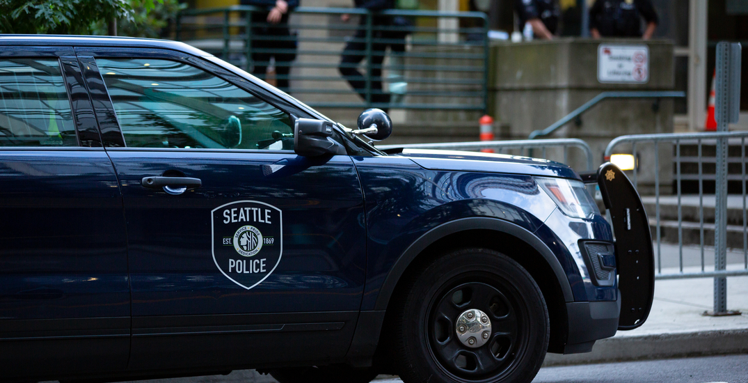 One person struck by vehicle and four arrested during last night's protests in Seattle