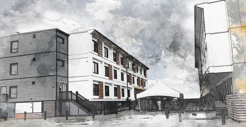 Construction to begin on new homeless modular housing in False Creek Flats