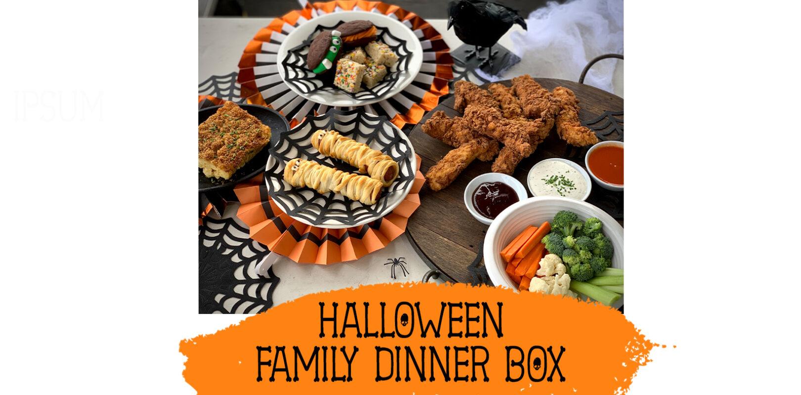 halloween dinner box