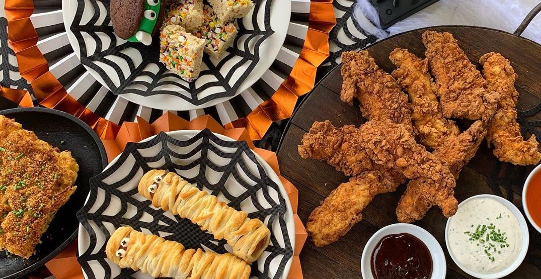 Treat your family to a Halloween-themed dinner kit from Serious TakeOut