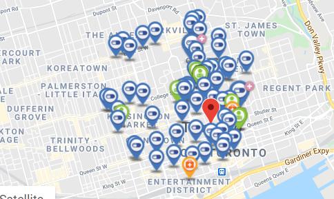 flu shot map