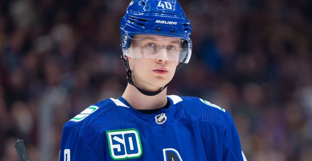 Pettersson switches agents ahead of contract negotiations with Canucks