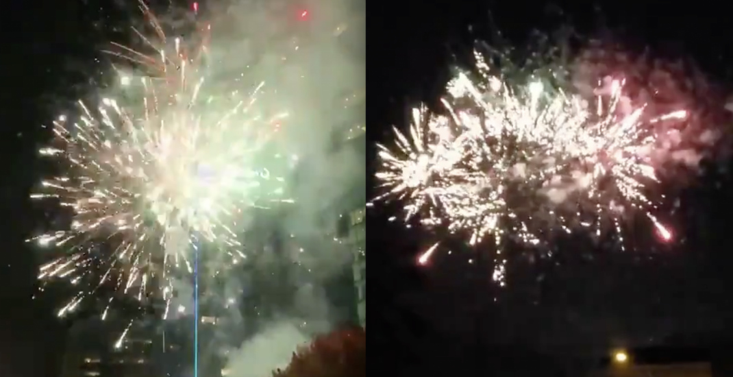 Halloween fireworks were on full display in Vancouver before November 1 ban (PHOTOS, VIDEOS)