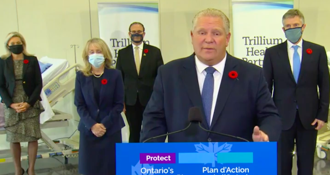 Ford to make announcement with Health Minister in Toronto