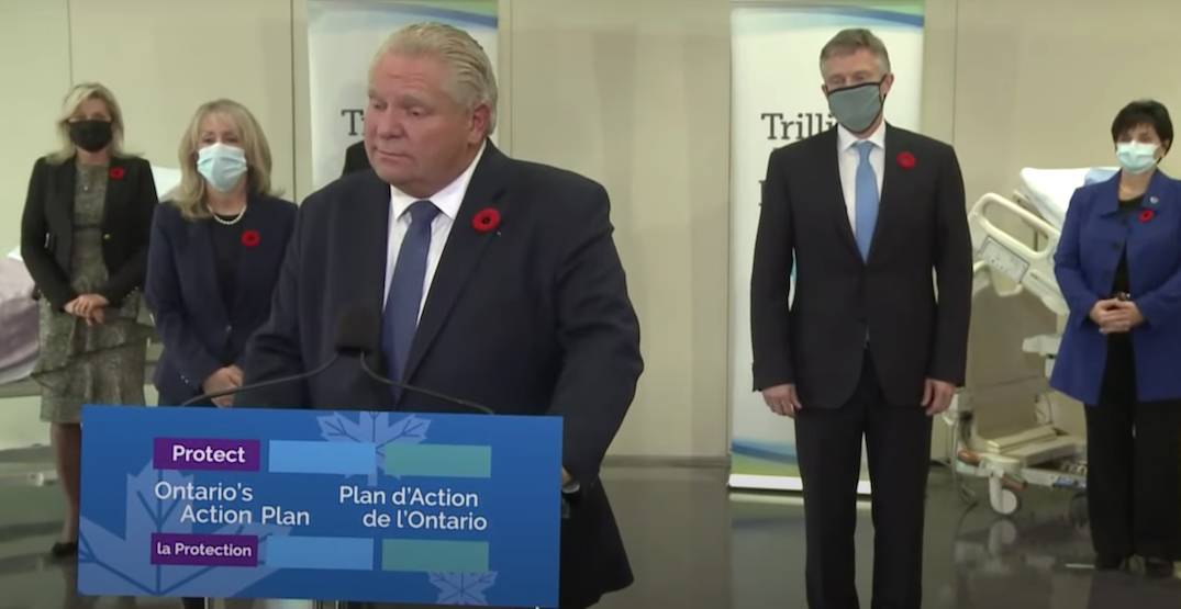 Reporter tells Doug Ford he could join the Leafs after 'skating around' question (VIDEO)
