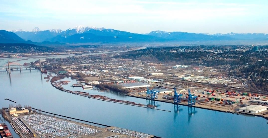 Surrey Board of Trade envisions new waterfront district near Fraser River bridges