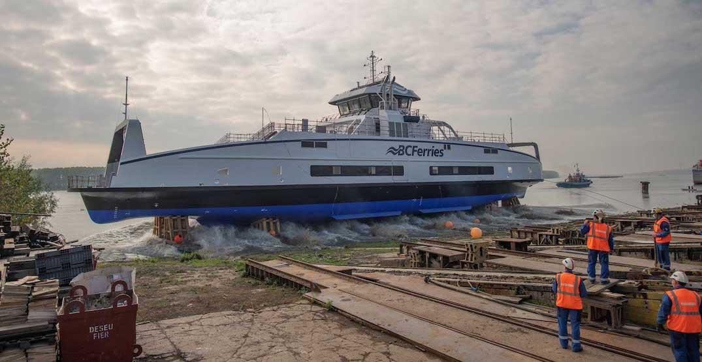 bc ferries island class damen shipyard