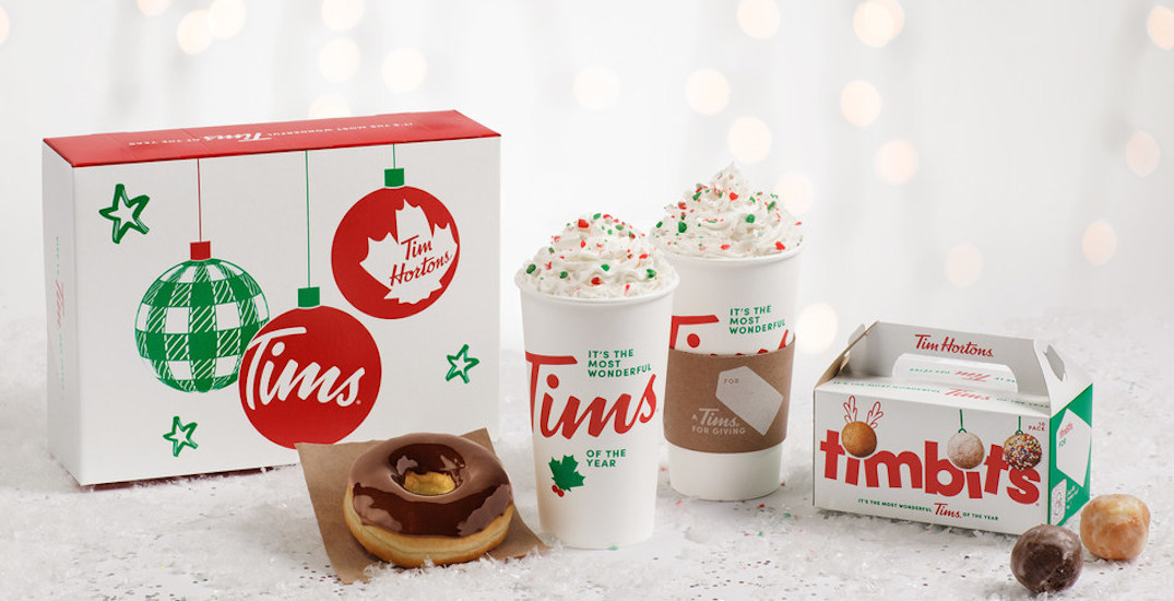 Tim Hortons to release new limited-edition holiday cups next week