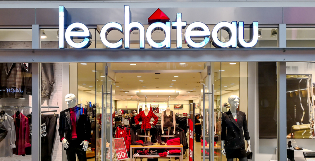 Le Chateau's liquidation sale officially kicks off across Canada