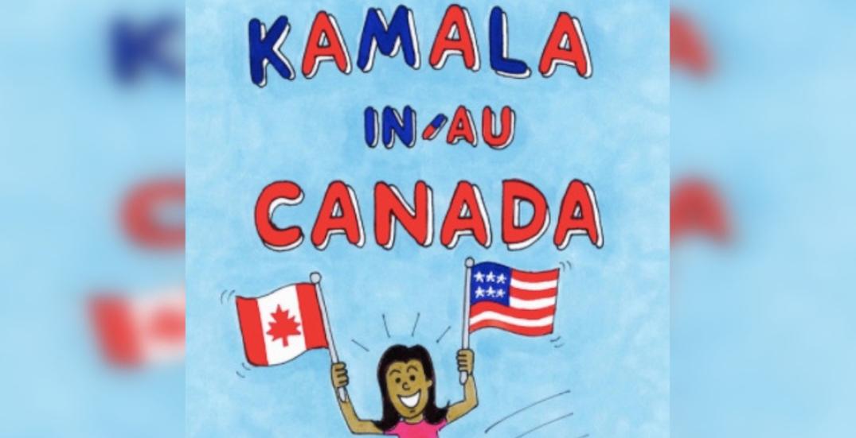 Comic book highlights Kamala Harris' time in Montreal