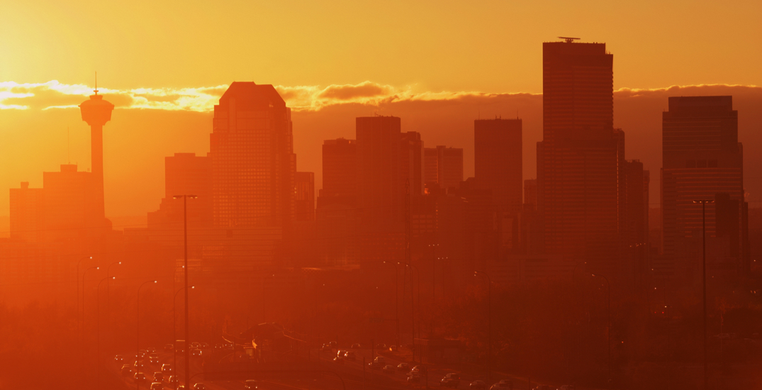 Calgary was blessed with a stunning sunrise this morning (PHOTOS)