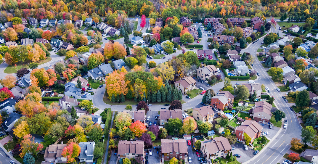 Metro Montreal area's real estate market jumped almost 40% last month