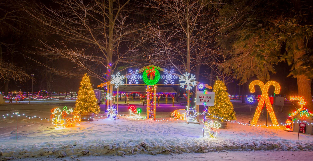 You can drive through a fantasy of lights near Toronto next month (VIDEO)