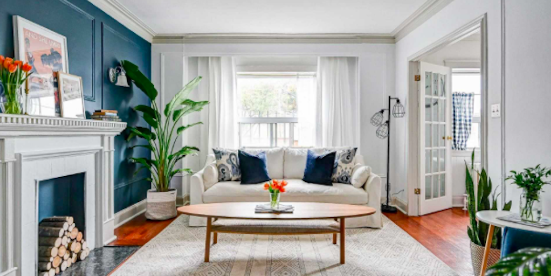 This renovated one-bedroom home on Bathurst is selling for $330K