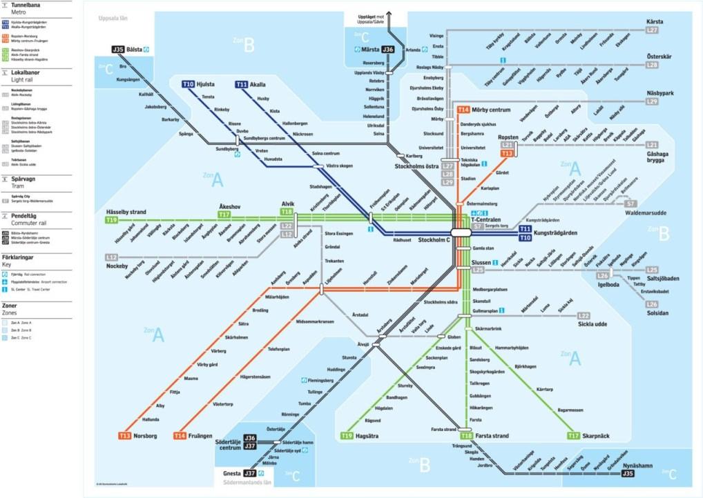 stockholm transit map
