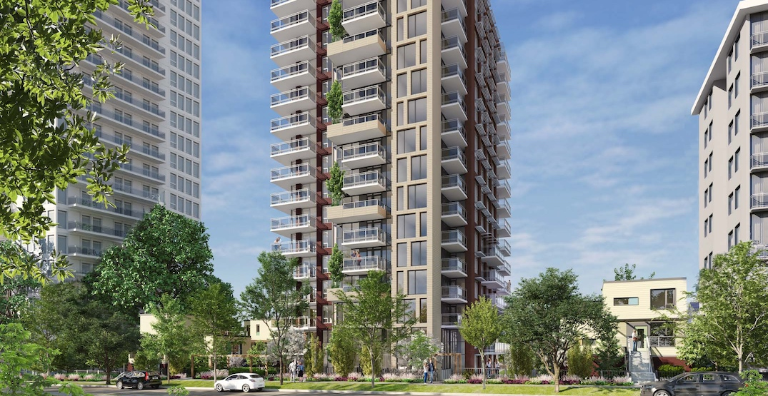 18-storey residential tower proposed for West End in downtown Vancouver