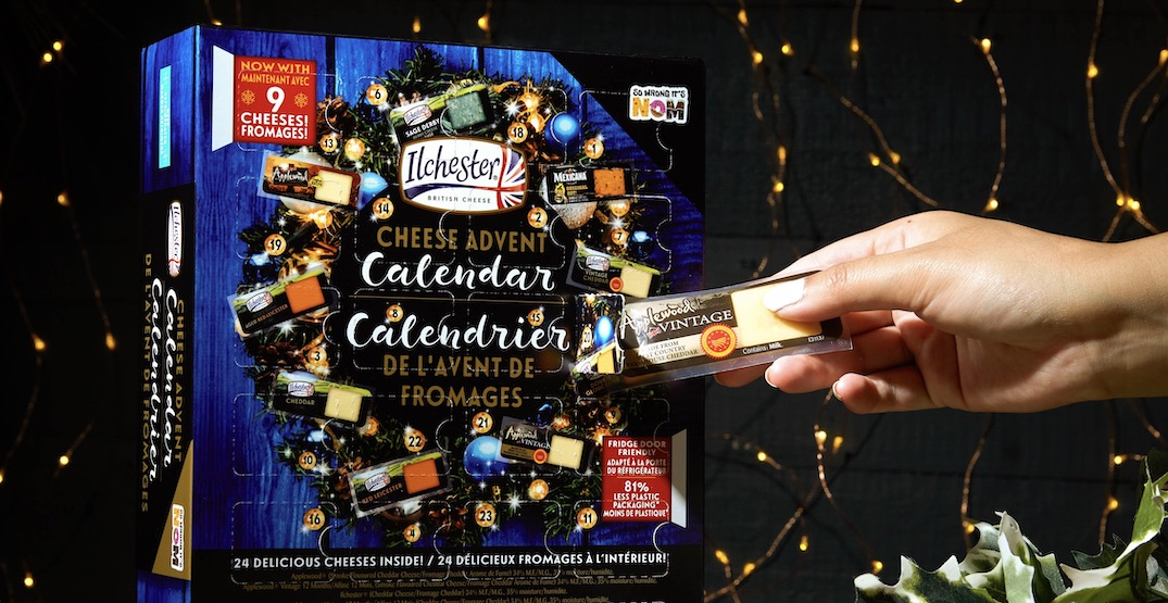 Canada's first cheese advent calendar is back this month