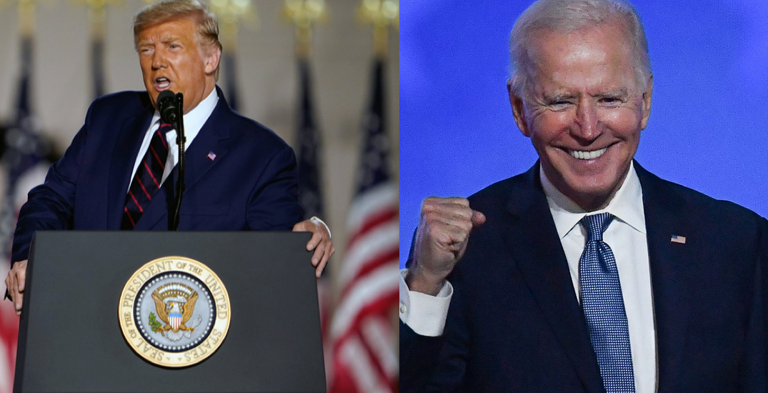 "Trump says they're ""finding Biden votes all over the place"" as US election counts continue"