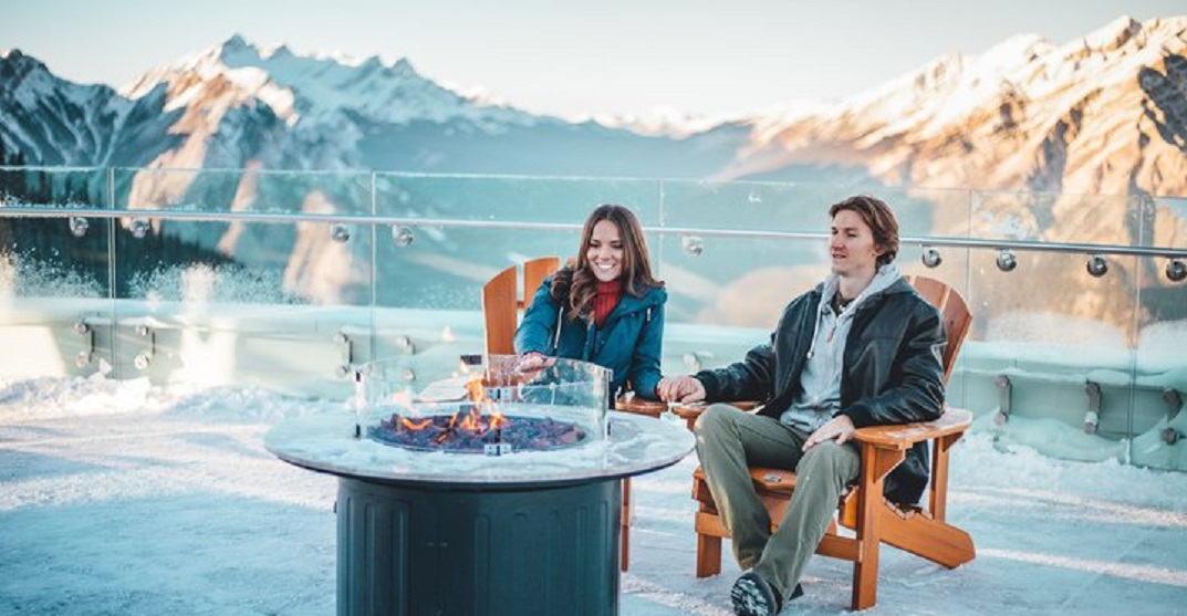 Check out Banff Gondola's Mountaintop Christmas this holiday season