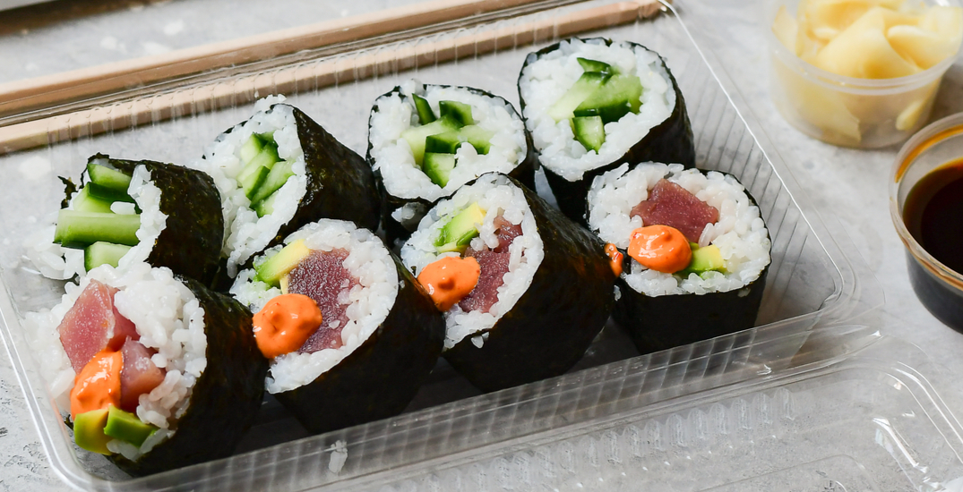 """Grab N Go"" sushi to open in downtown Vancouver soon"